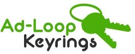 Ad loop keyrings