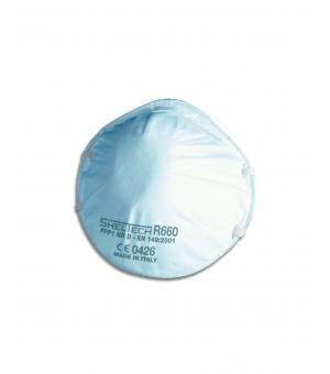 Respiratore Sheltech Per Polveri Fumi E Nebbie Ffp1 Nr D