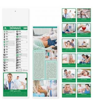Calendari Farmacia Silhouette cm. 14,3x47