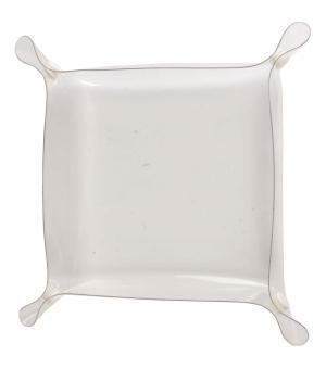 Svuotatasche Portaoggetti in PVC trasparente 23 x 23 cm