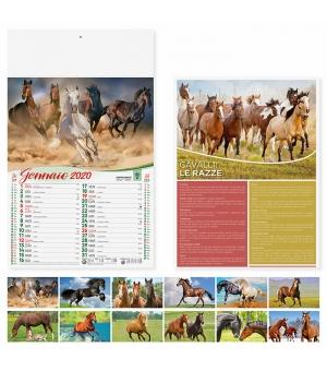 Calendari Cavalli cm 29x47