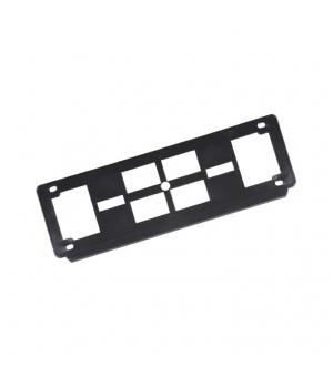 Portatarga auto personalizzato anteriore antiurto in Plastica