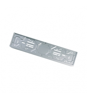 Portatarga auto personalizzato posteriore in Alluminio antiossidante