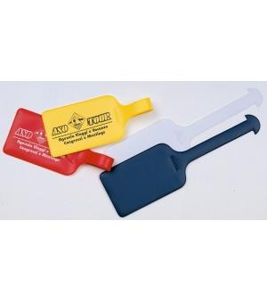 Portacartellino per valgia con Taschina 5,20  x  18,50 cm