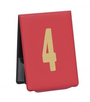 Segnaposto Numerato in Tam 6 x 8,50 cm ( Serie 10 Pezzi)