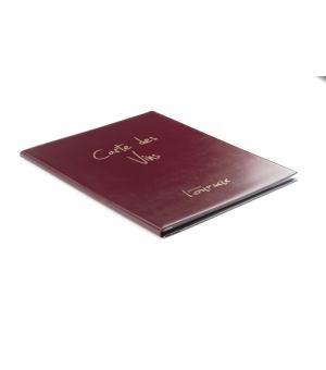 Portamenù Maxi Classic Con Viti Interne E 12 Buste 22,20  x 32 cm