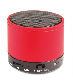 Mini altoparlante Bluetooth V 3.0 cilindrico in metallo