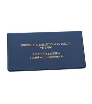 Portalibretto universitario 7,5 × 14,5 cm