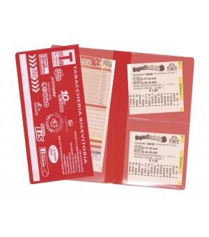 Portaschedine 2 ante 3 tasche 12 x 22,5 cm