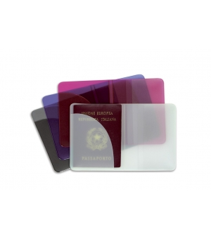 Portapassaporto 2 Ante Motif con tasca 9,5 x 13,5 cm