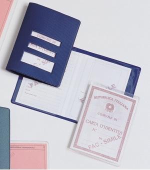 Porta carta d'identità 7,7 x 11,6 cm