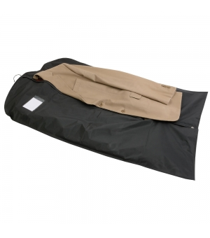 Porta abiti da viaggio in PEVA con porta card in PVC