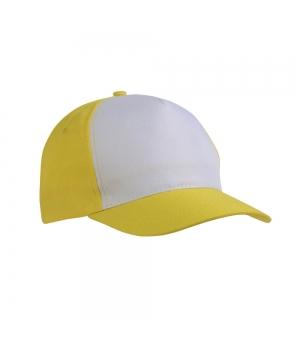 Cappellini in poliestere 5 pannelli regolazione a velcro