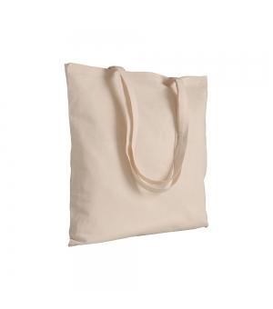 Shopper in cotone 100 gr - 38x42 cm manici lunghi