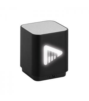 Speaker bluetooth con luce a led cm.5,9x7,2x5,9