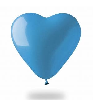 Palloncino gonfiabile cuore colorato Ø100 cm./40 pollici