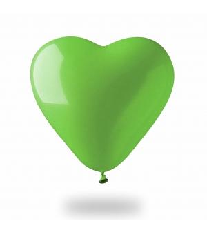 Palloncino gonfiabile cuore colorato Ø60 cm./24 pollici