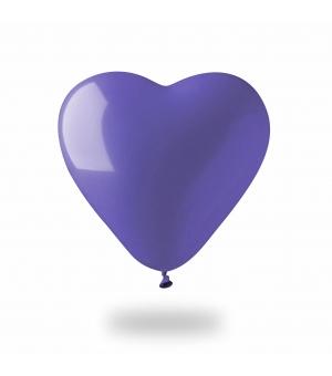 Palloncino gonfiabile cuore colorato Ø40 cm./17 pollici