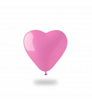 Palloncino gonfiabile cuore colorato Ø13 cm./5 pollici