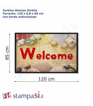 Zerbino personalizzato con stampa diretta cm 120x85