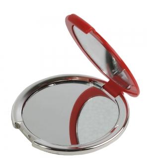Specchietto da borsetta in ABS a doppio ingrandimento