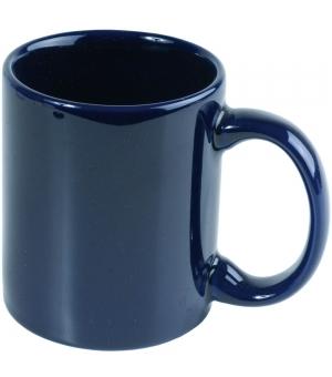 Tazza blu in ceramica A grade 0,32 L con scatola bianca