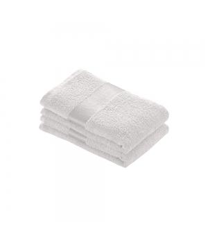 Asciugamano in spugna di cotone 350 gr. 40x60 cm con banda lucida