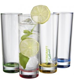 Set 4 pezzi bicchieri in vetro