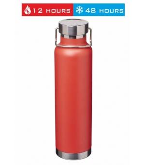 Bottiglia Thor da 650 ml con isolamento sottovuoto in rame