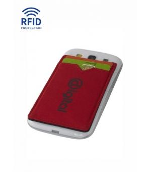 Doppio porta carte da smartphone protezione RFID