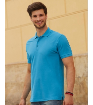 Polo uomo manica corta Premium Fruit of the Loom