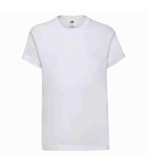 T-shirt bambino Original Fruit Of The Loom bianca