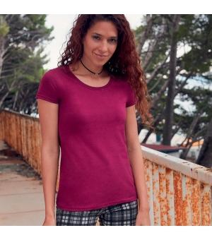 T-shirt donna Ringspun Premium T Fruit Of The Loom
