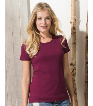 T-shirt donna Ringspun Premium T Fruit Of The Loom