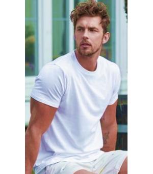 T-shirt uomo Sofspun Fruit Of The Loom bianca
