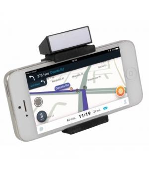 Supporto universale da auto per smartphone in plastica