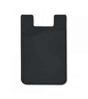 Porta carte di credito in silicone per smartphone
