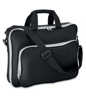 Borse porta laptop in poliestere cm 40x8x29 con tracolla