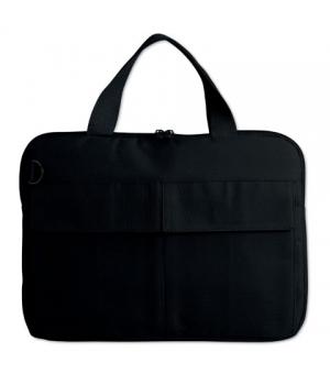 Borse porta laptop in poliestere cm 35x2,5x26 con manici corti