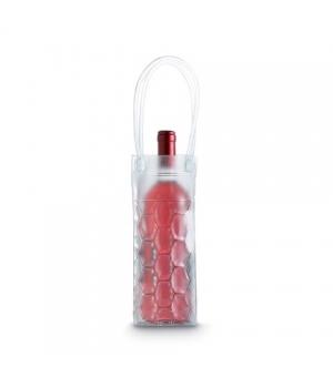Borsa termica con manici per una bottiglia cm 9,5x9,5x25