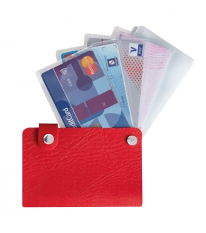 Portacard portabiglietti 10 posti cm 7,3x11,3