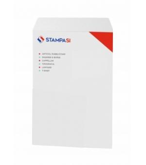Buste intestate formato 22,9x32,4 cm con chiusura adesiva