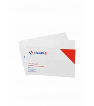 Buste intestate formato 22,9x16,2 cm con chiusura adesiva