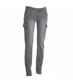 Pantalone donna taglio jeans Hummer Lady PAYPER 340 gr