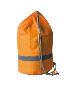 Sacca in poliestere con banda catarifrangente cm. 44x26