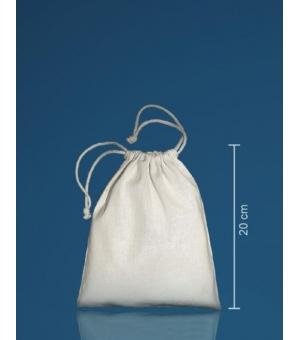 Sacca con coulisse Medium in cotone 140 gr - 15x20 cm