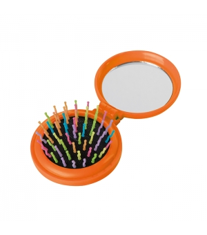 Spazzola con specchietto AMELIE richiudibile
