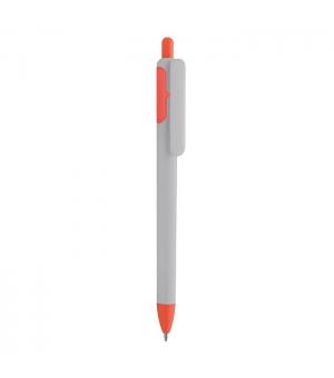 Penne Personalizzate a sfera Bi-Kate in plastica bianca