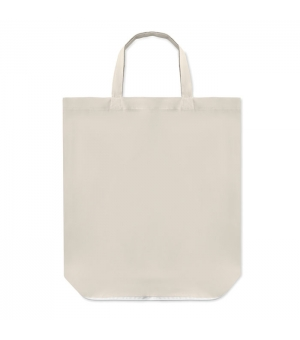 Shopper Borse FOLDY COTTON in cotone naturale 100 gr - Manici corti - Richiudile - 38x42x12 cm