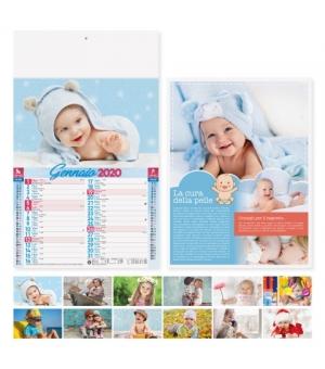 Calendari illustrati bambini cm 29x47